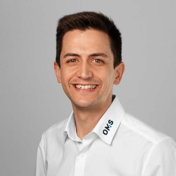 Philipp Erz - Sales Manager OMS Prüfservice Stuttgart