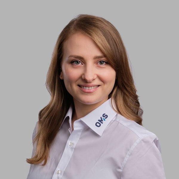 Anastassiya Berezan - Sales Managerin bei OMS Prüfservice GmbH Lorch