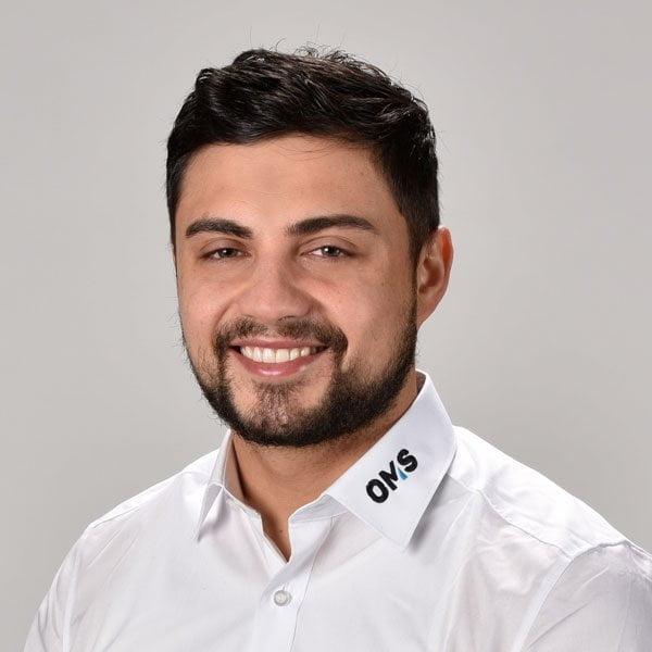 Jonah Jardine - Sales Manager OMS Prüfservice GmbH Saarbrücken