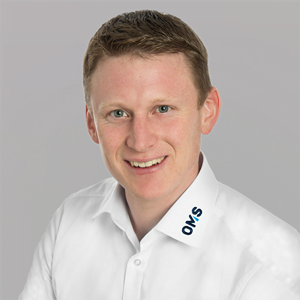 Alexander Förch - Sales Manager OMS Prüfservice GmbH Lorch