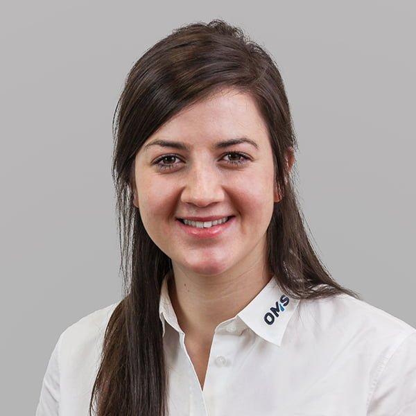 Christina Tima - Sales Manager OMS Prüfservice GmbH Österreich