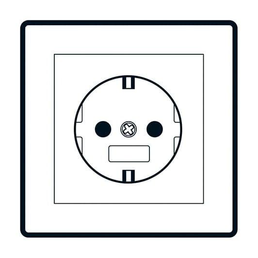 Ortsfeste elektrische Betriebsmittel - Schuko Stecker