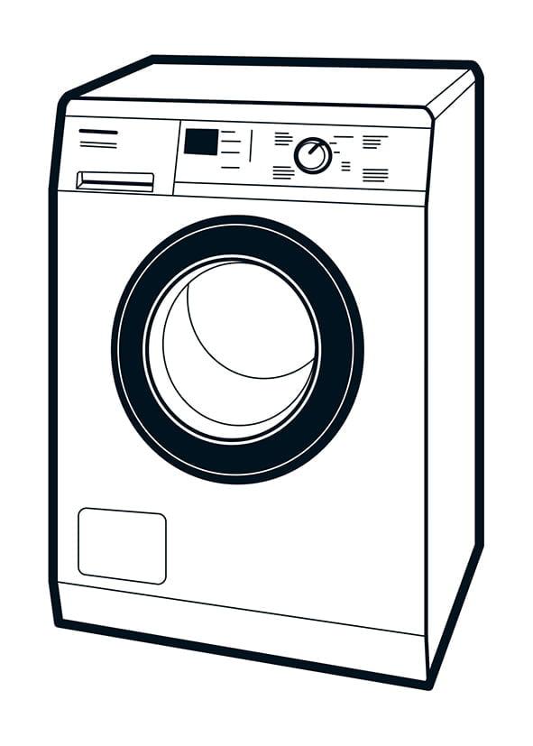 Ortsfeste elektrische Betriebsmittel - Waschmaschine