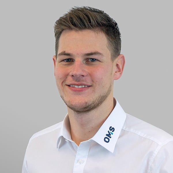Janis Bechtloff - Sales Manager OMS Prüfservice GmbH Hamburg