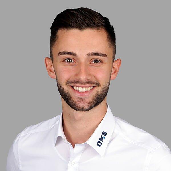 Luca Kral - Sales Manager bei OMS Prüfservice GmbH Ulm, Günzburg