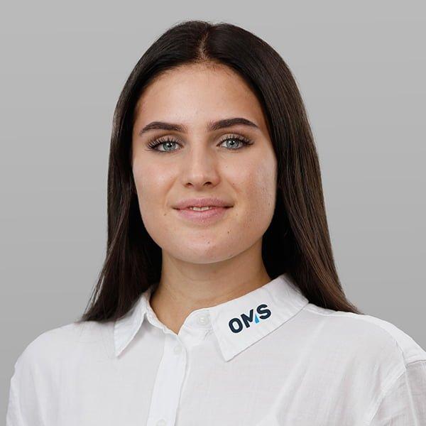 Paula Volmer - Sales Managerin bei OMS Prüfservice GmbH Düsseldorf