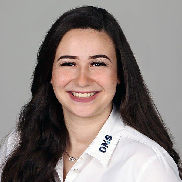 Serena Pisano - Sales Managerin OMS Prüfservice GmbH München