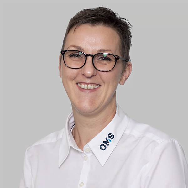 Sabrina Schauinger - Sales Manager OMS Prüfservice GmbH Saarbrücken