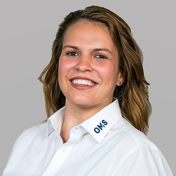 Mira Schwarz - Sales Managerin OMS Prüfservice GmbH Stuttgart