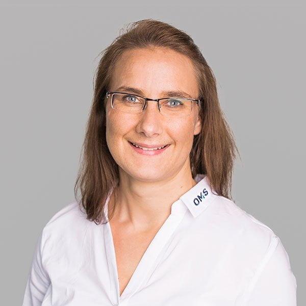 Eva Bühler - Produktmanagement bei OMS Prüfservice GmbH Freiburg