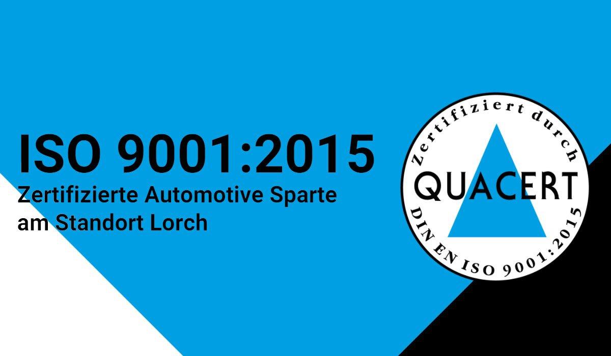 Quarcert Zertifikat ISO 9001:2015 Header | OMS Prüfservice GmbH