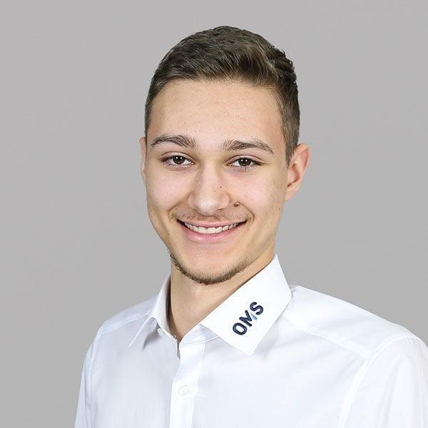 Jannik Hey - Auszubindender - OMS Prüfservice GmbH Stuttgart
