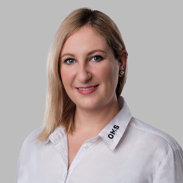 Kathrin West - Sales Managerin OMS Prüfservice GmbH Nürnberg