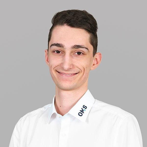 Pascal Hey - Team Leader - OMS Prüfservice GmbH Stuttgart