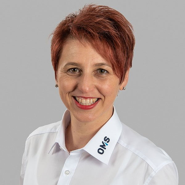 Sandra Nuding - Project Administrator - OMS Prüfservice GmbH Lorch
