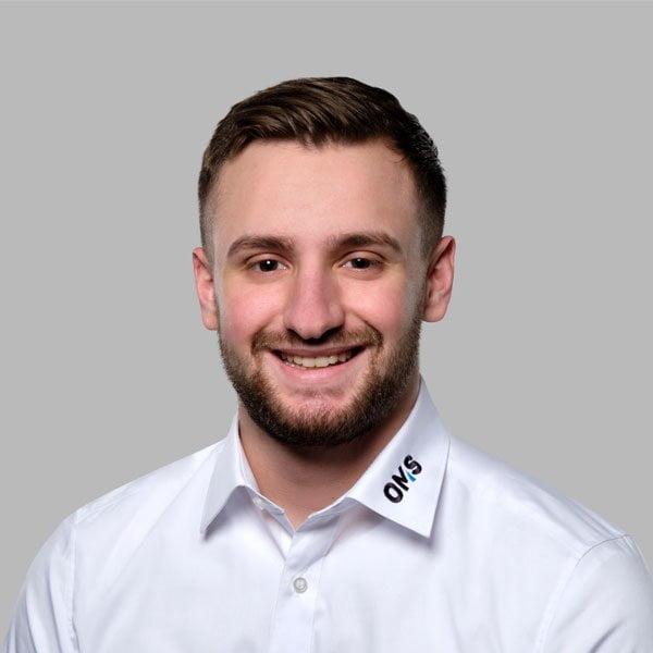 Valdrin Rafuna - Sales Manager OMS Prüfservice GmbH Dresden
