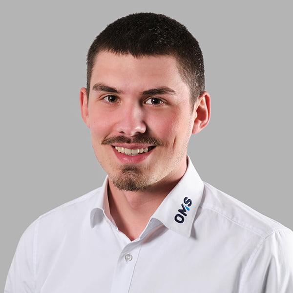 Simeon Kalogeridis - Sales Manager OMS Prüfservice GmbH Lorch