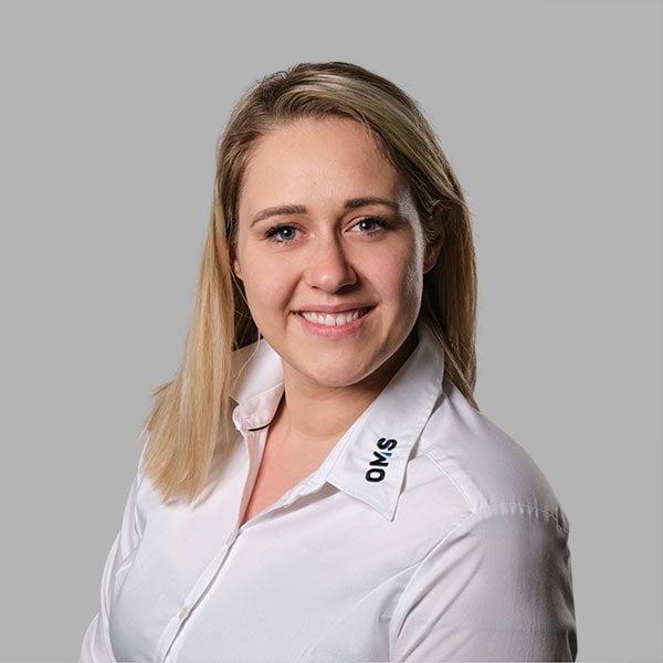 Jasmin Baumgärtner - Sales Manager bei OMS Prüfservice GmbH in Straubing